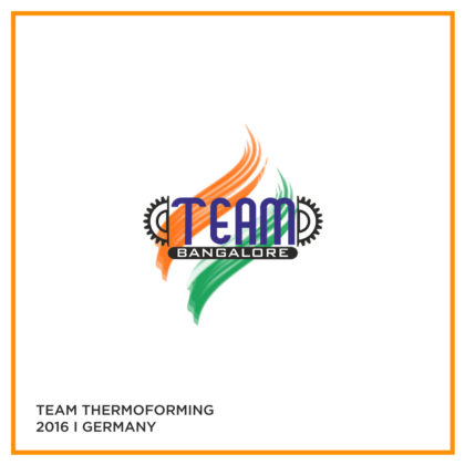 Team Thermoforming & Allieds – K Messe – 2016 Dusseldorf Germany