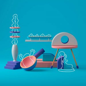 3D Art Graphic design Inspiration